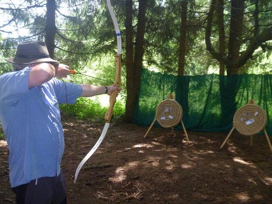 Bogenschießen - Outdoortraining Teil 1