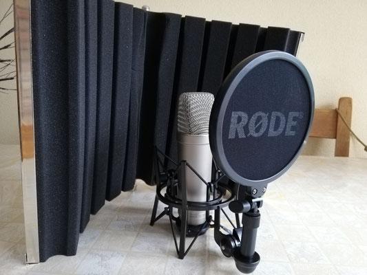 Onze nieuwe professionele studiomicrofoon