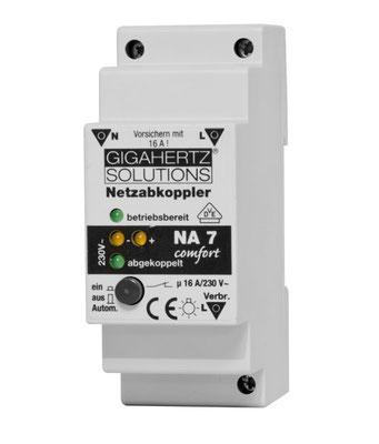 Netzabkoppler (Netzfreischalter) NA 7 Comfort mit VDE-Zulassung von Gigahertz-Solutions GmbH