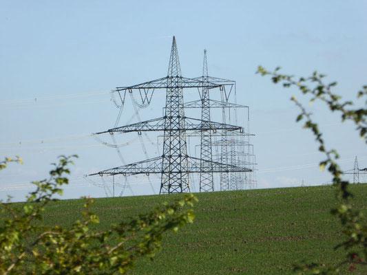 380 kV Höchstspannungsleitungen
