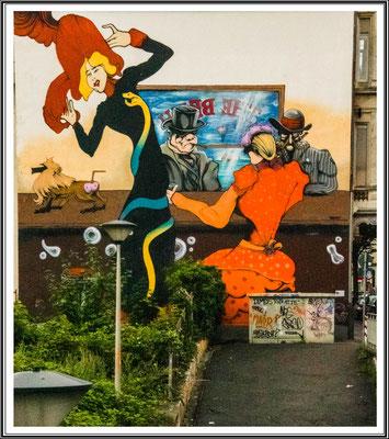 Wandmalerei in Hagen Weringhausen