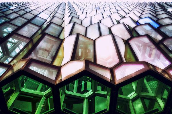 Platz 1  Fotograf: Peter Suck / Titel: Science Fiction Fassade