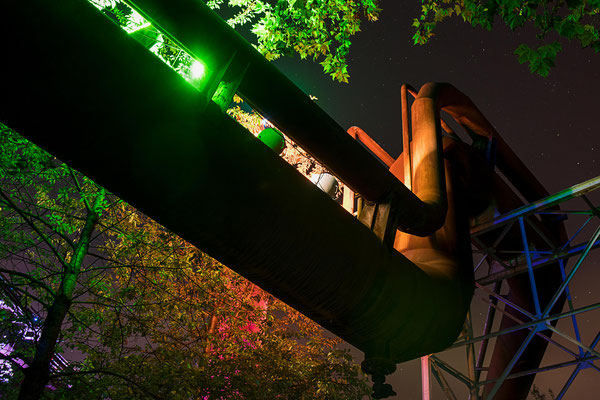 Fotografin: Uta Gronau / Titel: Industrieskulptur
