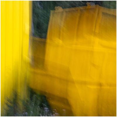 Gelbe Farbe - abstrakt