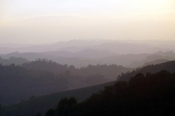 Piemont am Abend