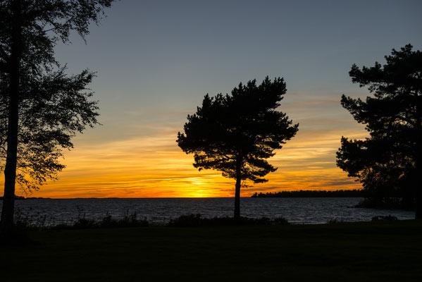 Detlef Klaffke - Sonnenuntergang am Vänern/Schweden
