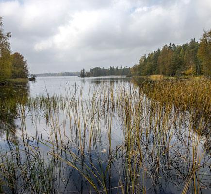 Schwedische Seenlandschaft - Panorama aus zwei Bildern