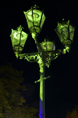 Fotograf: Matthias Bunte / Titel: Straßenlampe
