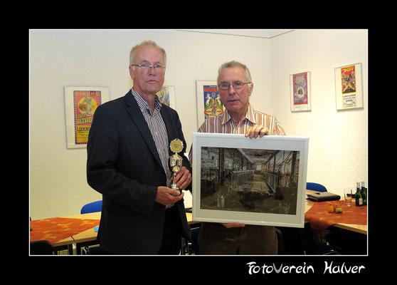 Herr Halverscheid mit der Sieger Herrn Walter Panne