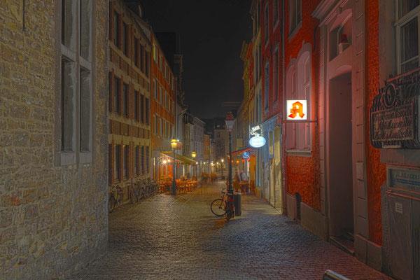 Pontstraße in Aachen - HDR