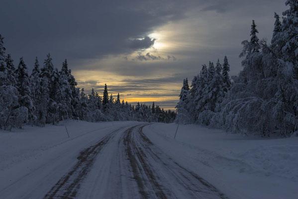 Detlef Klaffke - Januar in Lappland