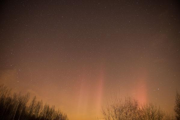 Polarlicht 18.03.2015 - Nähe Aachen