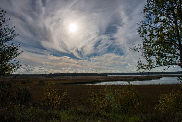 Wolken über Gotland/Schweden