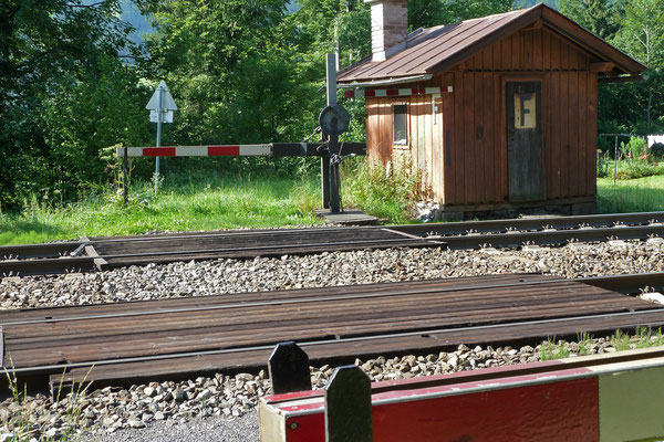 Regina Reininghaus - Bahnschranke