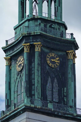 Regina Reininghaus - Kirchturm - grün