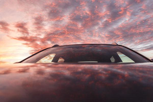 Im Himmel und auf'm Auto