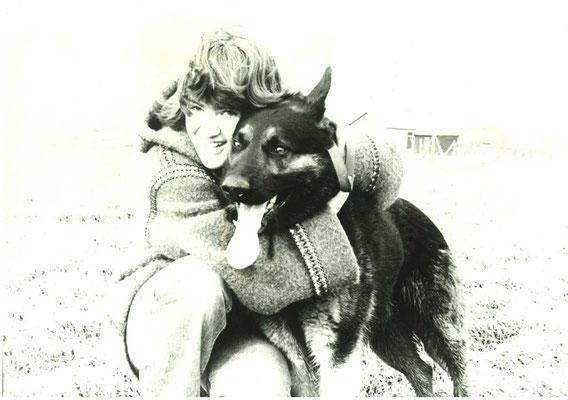 Katrin Kaiser mit Sergo von der Spreeperle