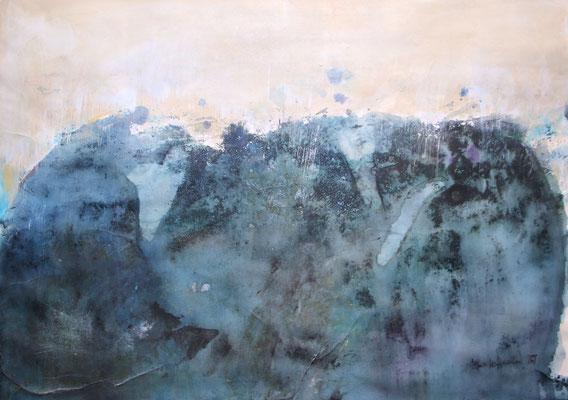 WESTWIND, 2018 – Acryl auf Papier, 50 x 70 cm (450 € ohne Versand)