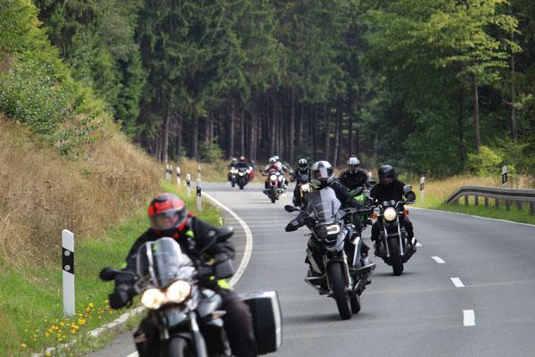 Kurzer abstecher in den Frankenwald