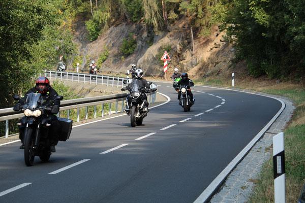 Durch das Thüringer Schiefergebirge
