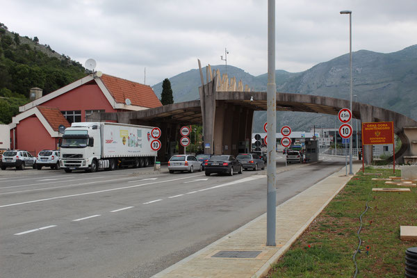 Grenze Albanien Montenegro