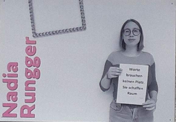 Plakat von Nadia Rungger, Stadtmuseum Klausen
