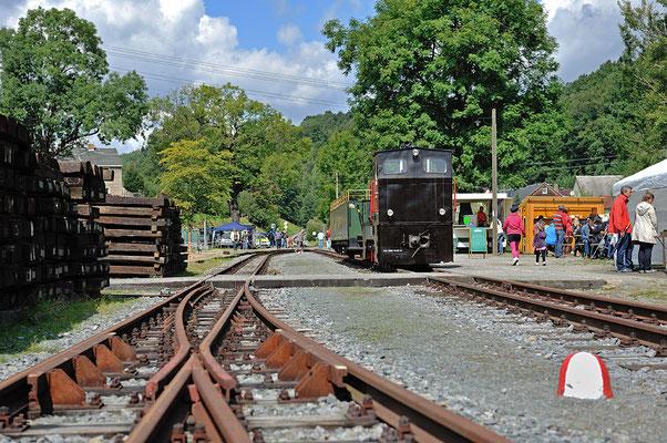 Noch im Jahr 2014 soll darüber entschieden werden ob der Verein eine Eisenbahnlinie durch das Schwarzbachtal betreiben darf, drücken wir dazu die Daumen damit es bald mit dem Gleisbau losgehen kann. Alle Bilder vom 24.08.2014.