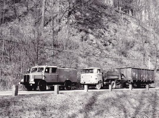 Blick auf die Unfallstelle bei Amtshainersdorf. Foto: Archiv Sven Kasperzek.