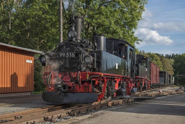 Die zwei wunderschönen Maschinen im besten Spätsommer-Abendlicht in Lohsdorf. 04.09.2020