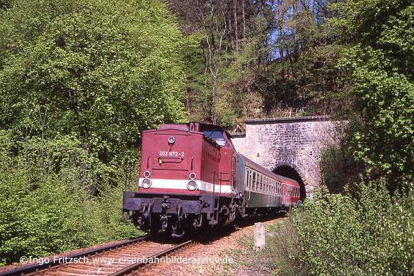 202 672 bei Amtshainersdorf. 05.05.1999 Foto: Ingo Fritzsch