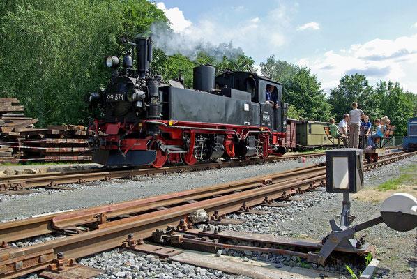 Und wieder ist eine IV K, diesmal aus dem Pressnitztal zu Gast in Lohsdorf. August 2008