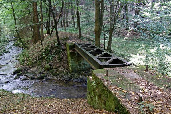 Brücke 4. die letzte bis zum ersten Zielhaltepunkt Schwarzbachtal, 26.09.09