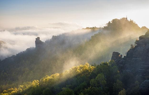Ein letztes Bild von diesem einmaligen Morgen auf dem Gohrisch. ISO 50, 70mm, f/6.3, 1/80sek.