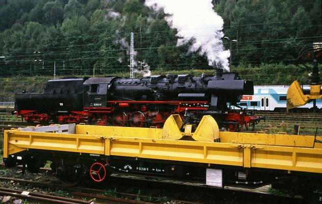 52 8141-5 in Bad Schandau, Foto: Jürgen Vogel, 1996