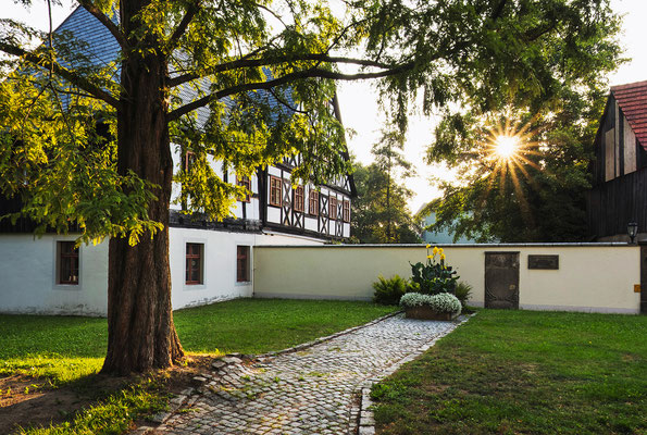Das Pfarrhaus in Neustadt, Juni 2019