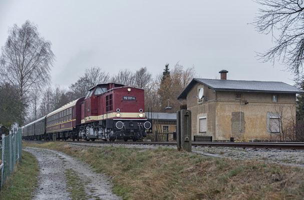 112 331 der OSEF an der alten Hohnsteiner Straße in Neustadt, 02.12.18