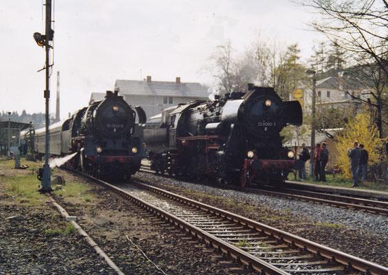 50 3648 & 52 8080 in Sebnitz.
