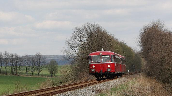 Zwischen Neustadt / Sachsen und Langenwolmsdorf. Foto: Jürgen Vogel, 17.04.12