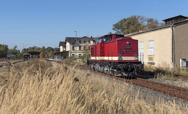 Umsetzen von 112 565 in Neustadt. 13.10.18