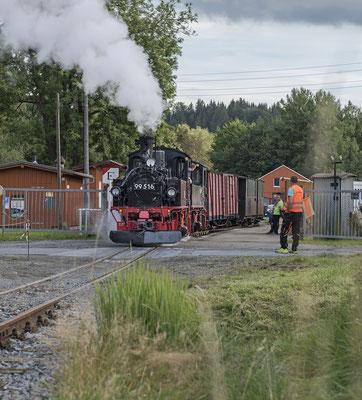GmP von Kohlmühle nach Hohnstein Abfahrbereit in Lohsdorf! Man wird ja wohl noch träumen dürfen ;-) 04.09.2020