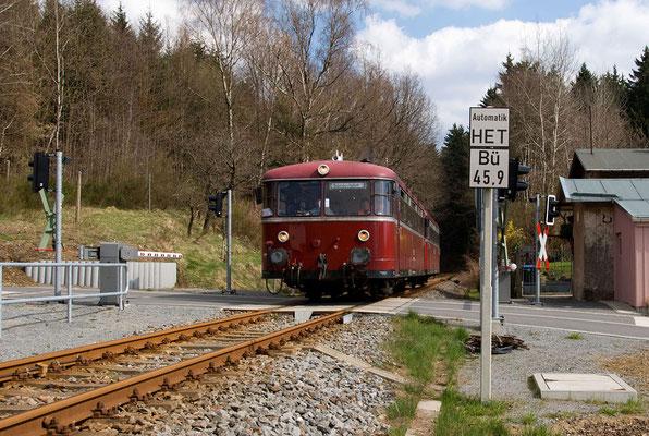 Zwischen Sebnitz und Krumhermsdorf. Foto: Axel Förster, 17.04.12