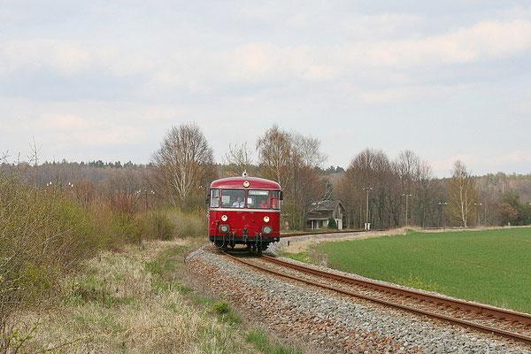 Und eine letzte Aufnahme aus der Fotokurve bei Lohmen. Foto: André Beck, 17.04.12 . Danke an alle Fotografen!