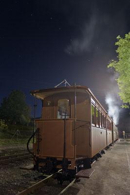 Nächste Station: Großer Wagen! Der Sternenhimmel über Lohsdorf bot ein wunderbar ergänzendes Ambiente... 26.08.2016
