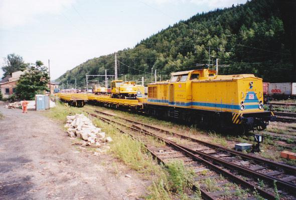 203 305 von DB Instandsetzung. Sommer 2004, Foto: Archiv Robert Schleusener