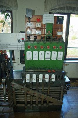 Im Jahr 1903 gingen die 2 Stellwerke in Betrieb, leider gibt es seitens der DB kein Interesse auf Erhalt der alten & Wertvollen Technik, 19.10.2009
