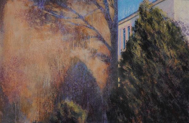 La rumeur des arbres - 60x92 cm - Acrylique sur toile