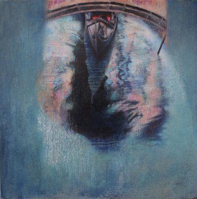 Venise - 80x80 cm - Acrylique sur toile