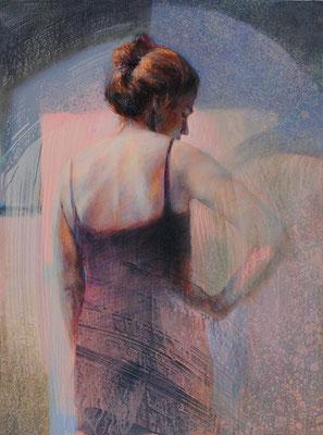 Minuit - 73x54 cm - Acrylique sur toile