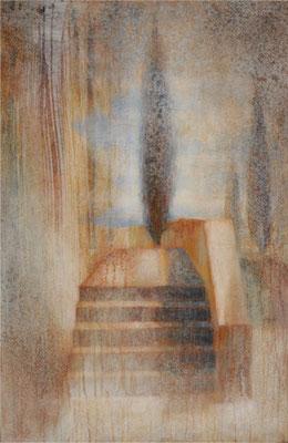 Souvenir - 92x60 cm - Acrylique sur toile