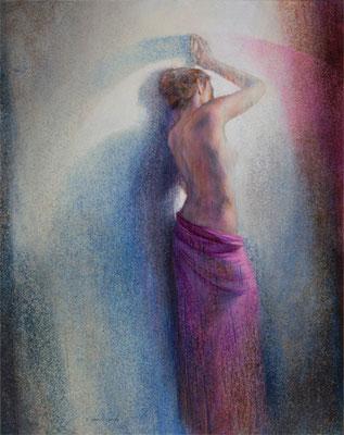 Secret d'Alcôve - 92x73 cm - Acrylique sur toile